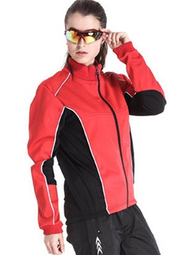 Breathable Fleece Keep Warm Comfort Fit Women Men Cycling Top