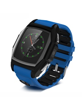 Gt68 Bluetooth Smart Watch Phone With Camera Support Gps Sos Water Resistant Sim Card For Android And Iphone