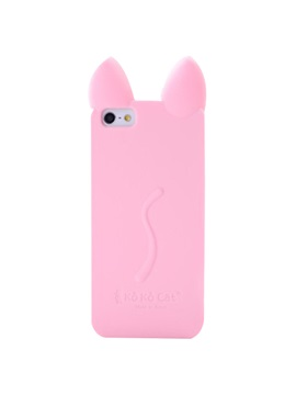 For Iphone 5 5s Se 6 6s 7 Plus 6 6s 7 Cartoon Cats Ear Silicon Dirt Resistant Back Cover Mobile Phone Shell