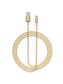 Apple Lighting Interface Nylon Weave Data Cable 1m