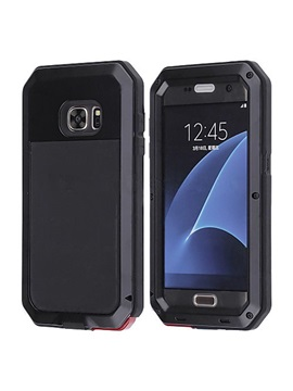 For Samsung Galaxy S7 Case Waterproof Shockproof Gorilla Glass Case