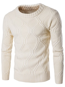 Vogue Pattern Causal Mens Thicken Sweater