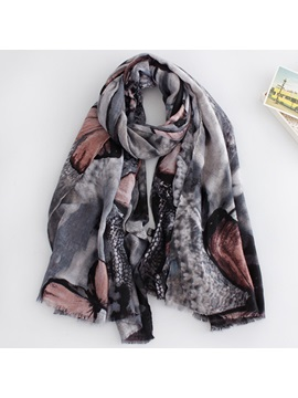 Butterfly Printing Scarf