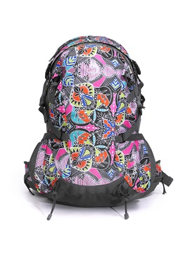 Colorful Patchwork Backpack
