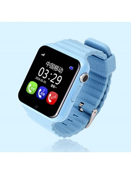 V7k With Camera Support Gps Sos Call Anti Lost Smart Watch For Iphone Android Phones