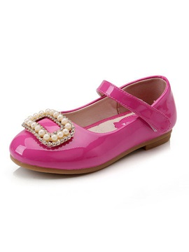 Vogue Pearl Decorated Girls Flats