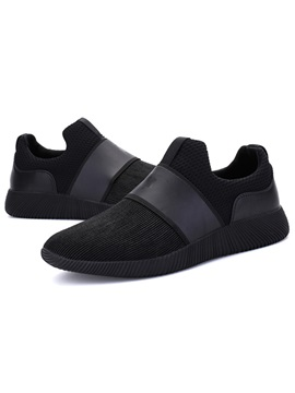 Cloth Patchwork Slip On Mens Casual Shoes