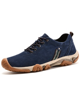 Pu Plain Lace Up Fashion Sneakers For Men