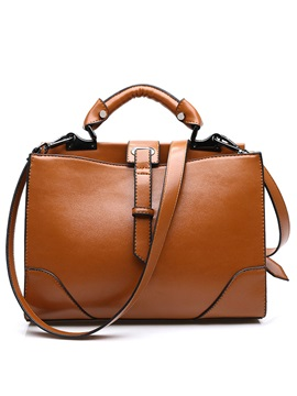 Vogue Elegant Belt Decorated Women Satchel