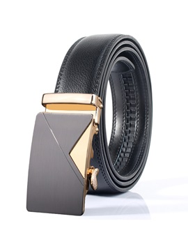Hot Sale Automatic Buckle Design Leather Mens Belt