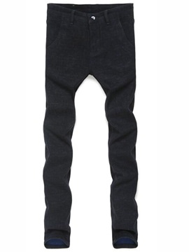 Slim Fit Causal Mens Straight Pants