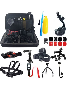 Practical 24in1 Sports Photography Set Kit Tools For Gopro Camera Tripod