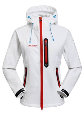 Polyester Fleece Waterproof Soft Shell Outdoor Jacket