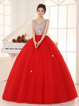 Jewel Ball Gown Appliques Quinceanera Dress
