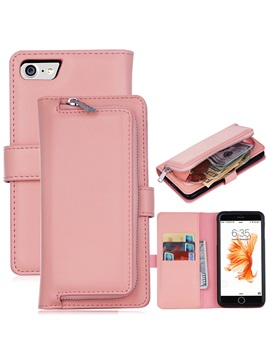 For Iphone7 7plus 6 6s Cover Pu Leather Wallet Case