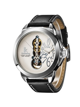 Double Movement Large Dial Mens Mechanical Watch
