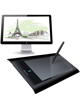 Huion W58 8 Inch Usb Wireless Tablet Professional Art Graphics Drawing Digital Painting Tablet