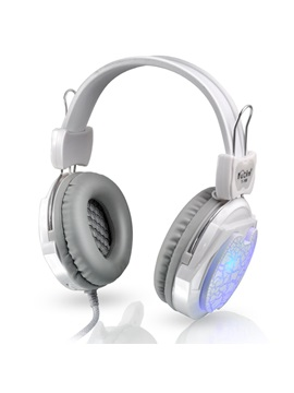 T169 Burst Pattern With Colorful Led Light On Ear Headphone