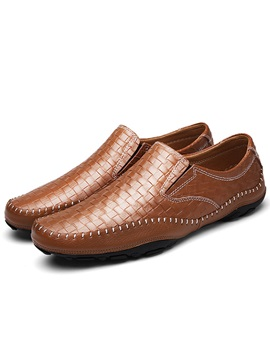 Embossed Leather Glitter Mens Sale Shoes
