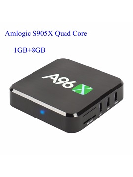 A96x Kodi Android Tv Box Amlogic S905x Quad Core 1g 8g 4k Tv Box With Remote Control