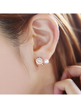 dagger diamond women earring earrings aloy product image cut products new pair stud simple gd deals popular
