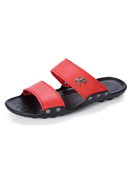 Pu Flip Flop Slip On Mens Good Shoes