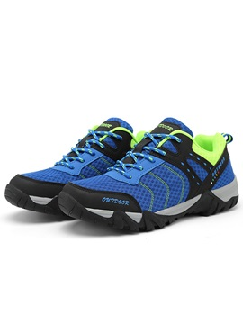 Mesh Color Block Bright Color Stylish Sneakers For Men