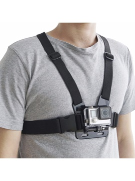 Cp Gpk05 Black Universal Action Camera Accessory Back Ridge Strap