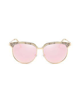 Alloy Full Frame Hd Lens Womens Sunglasses