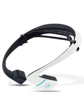 Lf 18 Bluetooth Wireless Bone Conduction Hands Free With Mic Sports Headphones For Iphone For Samsung