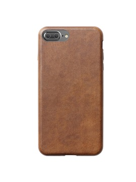 Nomad Fashion Brown Luxurious Leather Case For Cellphone Iphone 7 7 Plus