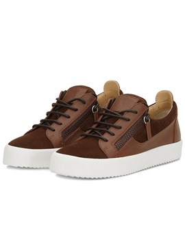 Pu Plain Lace Up High Quality Mens Sneakers