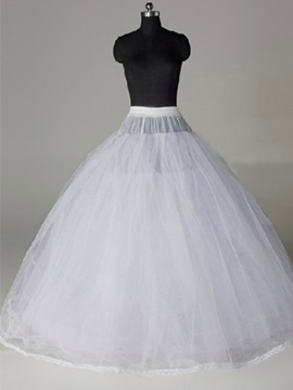 Simple A Line Wedding Petticoats
