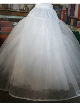 Gauze Ball Gown Wedding Petticoats