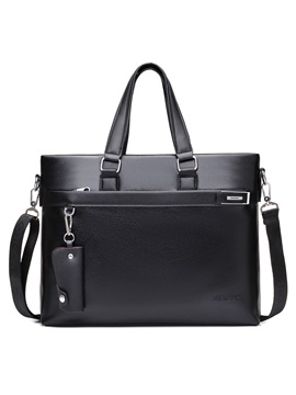Multi Functional Pu Men's Handbag