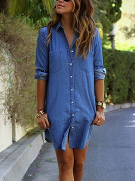 Denim Womens Dress