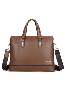 Casual Square Shape Mens Briefcase