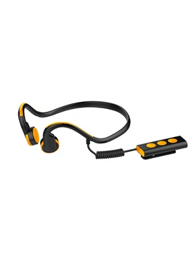 Hot Bone Conduction Bluetooth Headphone With Wired Controller