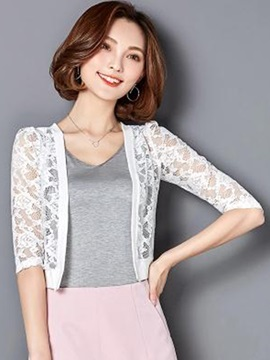 Ladylike Slim Lace Thin Cape