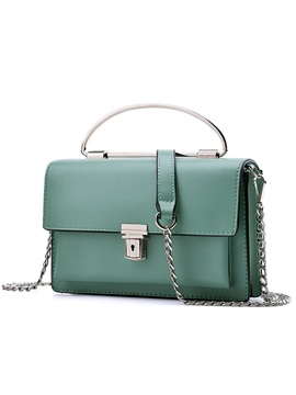 Fashion Latch Design Crossbody Bag