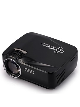 Gp70 Pro Portable Projector 1080p Android Support Wifi Bluetooth Connection 100 Inch Screen Home Multimedia Projector