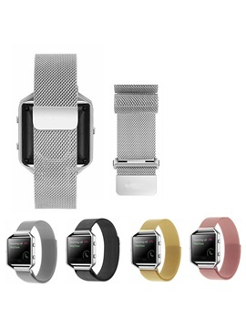 Colorful Stainless Steel Smart Watch Band For Fitbit Blaze Watch
