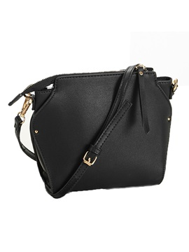 Fashion Shell Shape Zipper Crossbody Bag