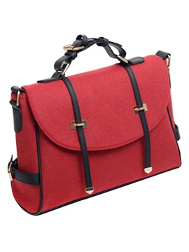 British Style Vintage Double Arrow Design Satchel