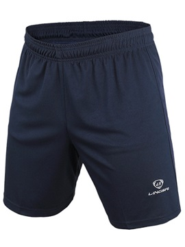 Casual Solid Color Men Run Short Shorts