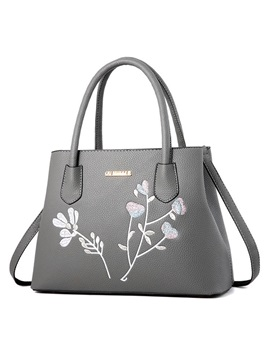 Retro Embroidery Pattern Women Handbag