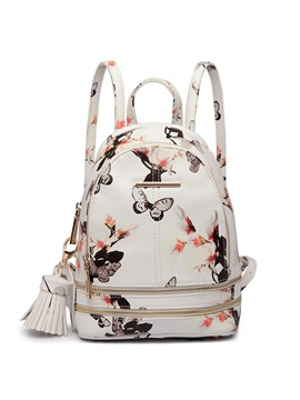 Korean Style Floral Printing Backpack