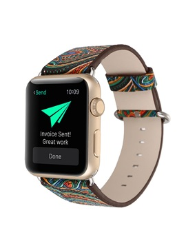 Chinese Style Pattern Smartwatch Strap For 38mm 42mm Apple Iwatch Smart Watch Tech