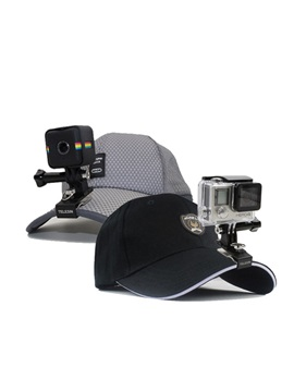 Baseball Hat With Buckle Mount Adjustable Cap For Action Camera Gopro Soocoo Xiaoyi