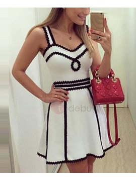 Sleeveless Womens Short Dress